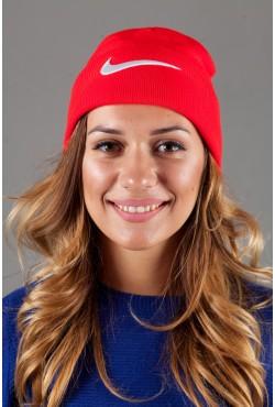 Женская спортивная шапка Nike-Red