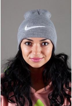 Женская спортивная шапка Nike-LightGrey