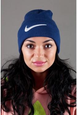 Женская спортивная шапка Nike-Indigo