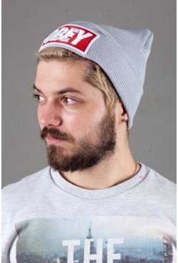 Мужская шапка ObeyGrey