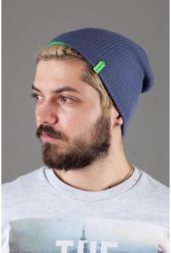 Мужская трикотажная шапка Shado72-BrightGreen