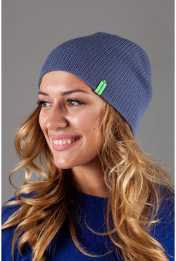 Женская трикотажная шапка Shado72-BrightGreen