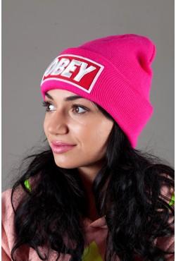 Женская шапка ObeyPink
