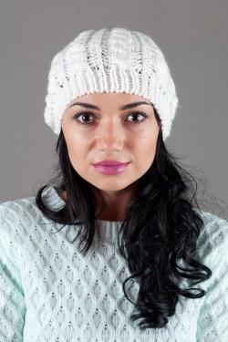 Женская вязанная шапка W-Luxury 9197S-8