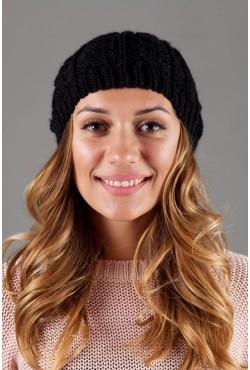 Женская вязанная шапка W-Luxury 9197S-5