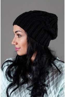 Женская вязанная шапка W-Luxury 630S-5