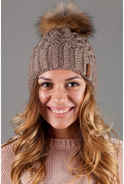 Женская вязанная шапка OdysseyMarsel-Moko