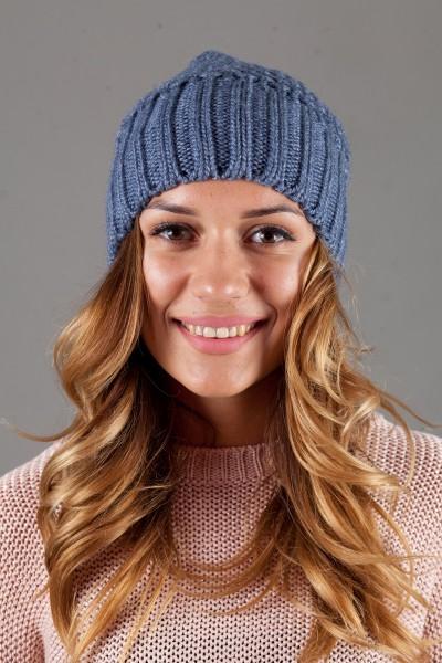 Женская вязанная шапка W-Luxury 9155S-20