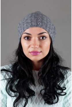 Женская трикотажная шапка W-Luxury 9194S-2
