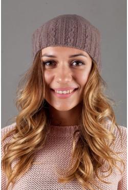 Женская трикотажная шапка W-Luxury 9194S-136