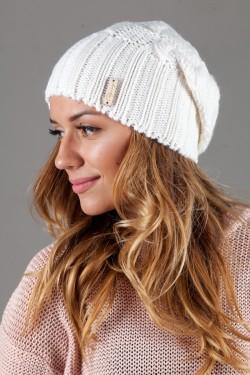 Женская вязанная шапка OdysseyIsabella-White