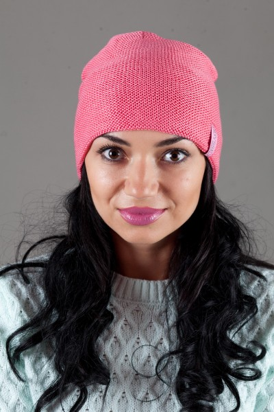 Женская трикотажная шапка OdysseyFresh-Pink