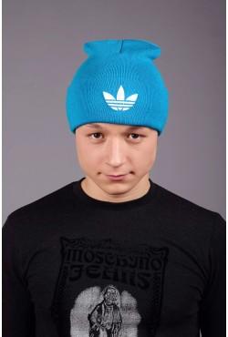 Мужская спортивная шапка Adidas Blue