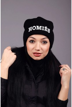 Женская шапка Homies B-W