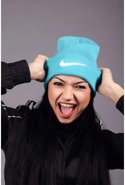Женская спортивная шапка Nike Aqua