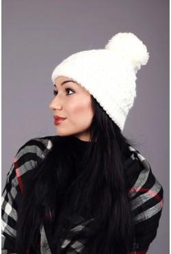 Женская вязаная шапка 64S-C8