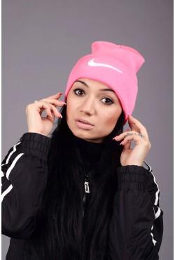 Женская спортивная шапка Nike Pink