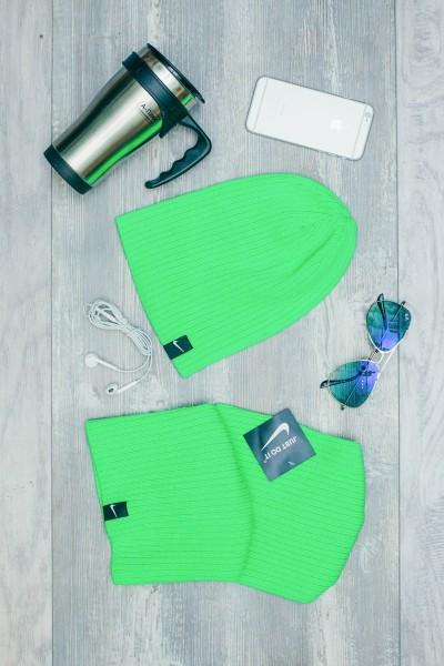 Мужская спортивная шапка Nike Light - Green