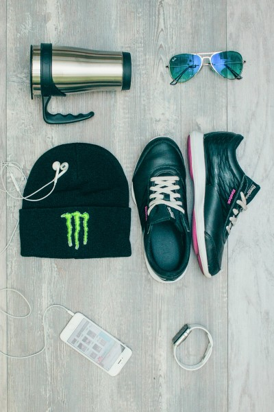 Мужская шапка Monster_E-black