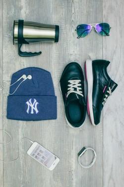 Мужская шапка New York Blue