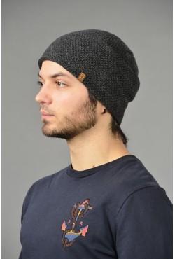 Мужская трикотажная шапка ozzi-95-gray-M