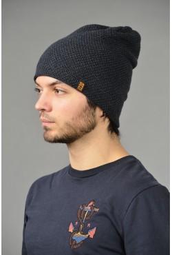 Мужская трикотажная шапка ozzi-95-d-blue-M