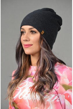 Женская трикотажная шапка ozzi-95-d-blue-W