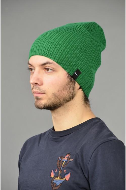 Мужская спортивная шапка Nike Light - D_Green-M