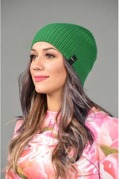 Женская спортивная шапка Nike Light - D_Green-W