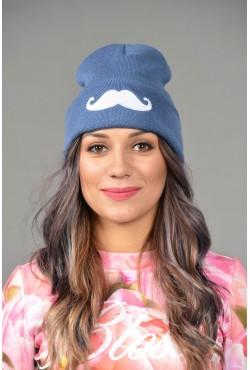 Женская трикотажная шапка Cayler-Denim-W