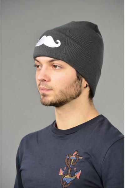 Мужская трикотажная шапка Cayler-Denim-M
