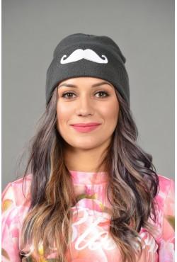 Женская трикотажная шапка Cayler-Gray-W