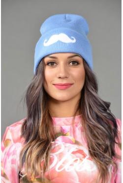 Женская трикотажная шапка Cayler-L-Blue-W