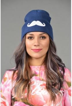 Женская трикотажная шапка Cayler-Blue-W