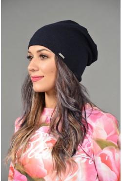 Женская трикотажная шапка Odyssey-chicago-black-W