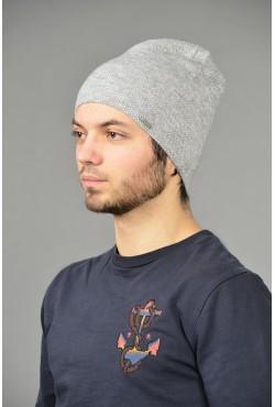 Мужская трикотажная шапка Odyssey-chicago-gray-M