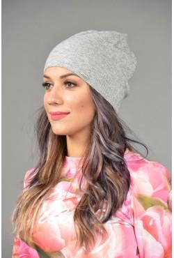 Женская трикотажная шапка Odyssey-chicago-gray-W