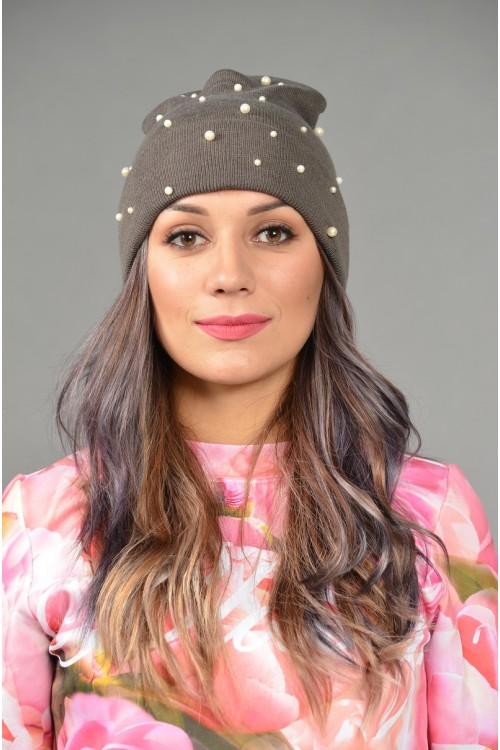 Женская трикотажная шапка Odyssey-Nonstop-gray