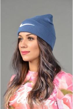 Женская спортивная шапка Nike-denim-W
