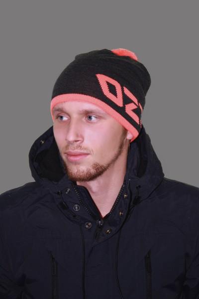 Мужская трикотажная шапка ozzi 69-grey-M