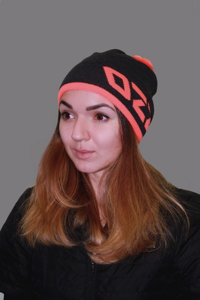 Женская трикотажная шапка ozzi 69-grey-W