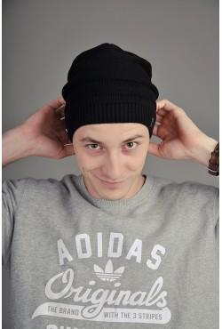 Мужская трикотажная шапка Ozzi Cap черная