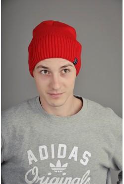 Мужская трикотажная шапка Ozzi Cap красная