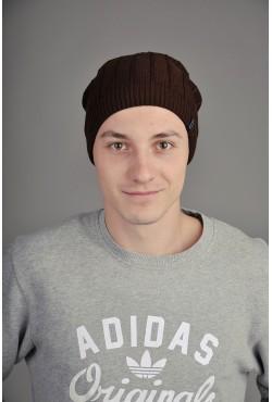 Мужская трикотажная шапка Ozzi Line коричневая
