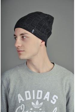 Мужская трикотажная шапка Ozzi Line серая