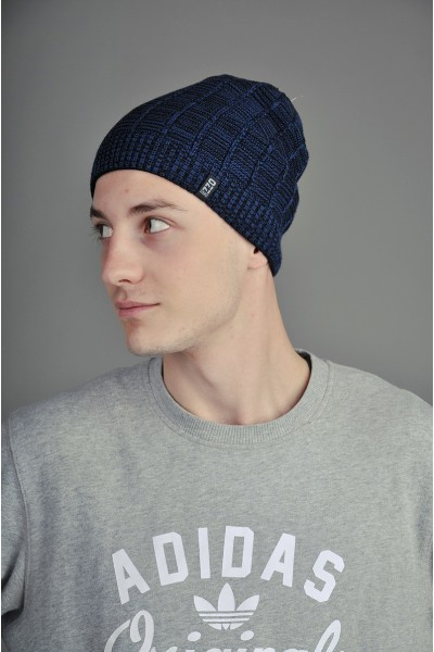 Мужская трикотажная шапка Ozzi Line синяя