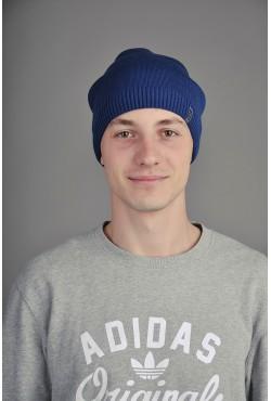 Мужская трикотажная шапка Ozzi CapC синяя