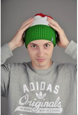 Мужская трикотажная шапка Ozzi Tripl белая