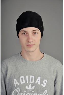 Мужская трикотажная шапка Ozzi Classic черная
