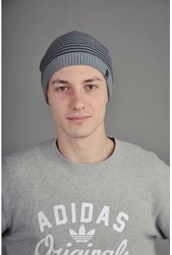 Мужская трикотажная шапка Ozzi Classic Grey/Blut
